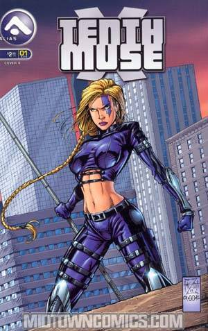 10th Muse Vol 3 #1 Cover A Alex Amezcua Cover