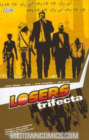 Losers Vol 3 Trifecta TP