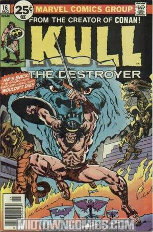 Kull The Destroyer #16