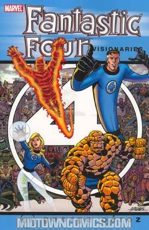 Fantastic Four Visionaries George Perez Vol 1 TP