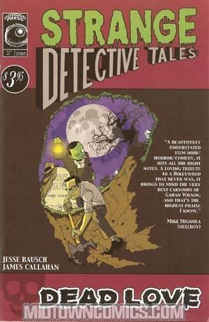 Strange Detective Tales #1 cover