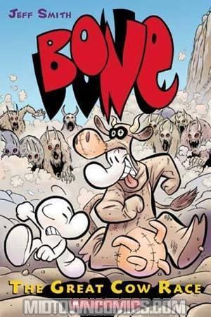 Bone Vol 2 The Great Cow Race HC Color Ed
