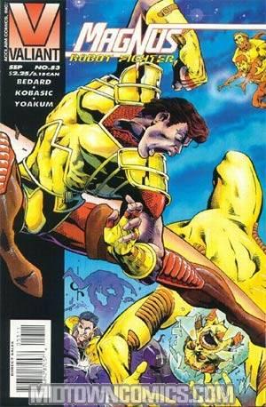 Magnus Robot Fighter #53