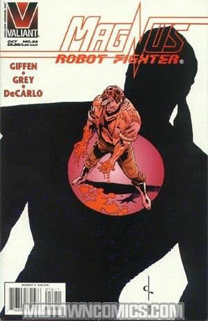 Magnus Robot Fighter #56
