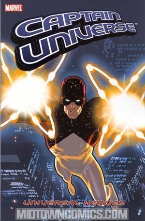 Captain Universe Universal Heroes TP