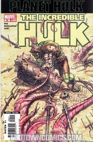 Incredible Hulk Vol 2 #92 Cover A