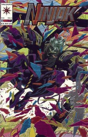 Ninjak #1 Chromium Cover