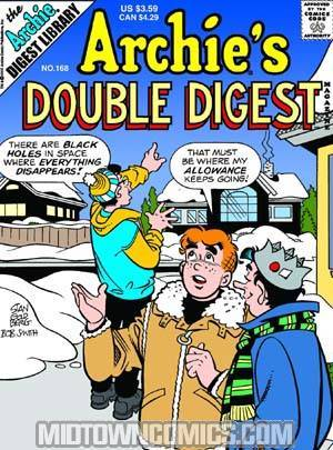 Archie's Double Digest #168 cover