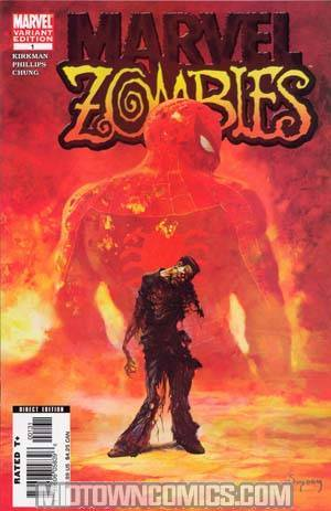 Marvel Zombies #1 3rd Ptg Var