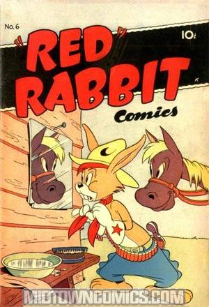 Red Rabbit Comics #6