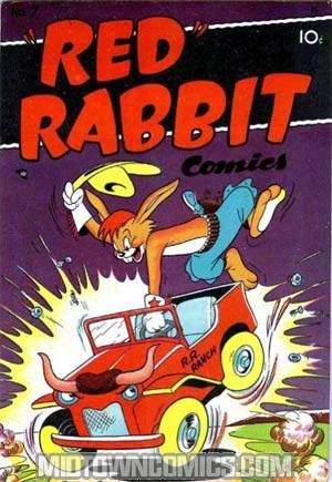 Red Rabbit Comics #7