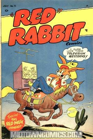 Red Rabbit Comics #11