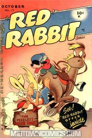 Red Rabbit Comics #17