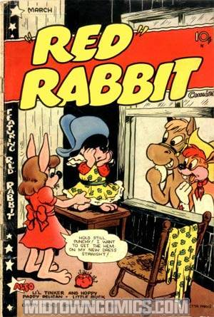�Red� Rabbit Comics #19
