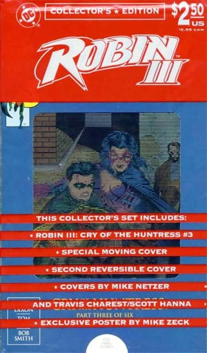 Robin III Cry Of The Huntress #3 Collectors Edition With Polybag