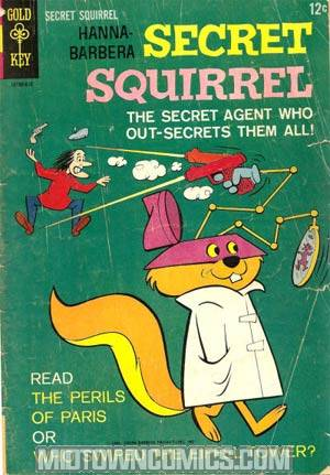 Secret Squirrel #1