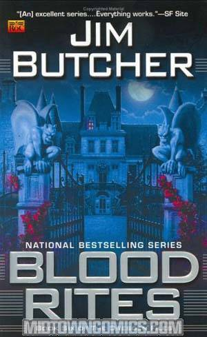 Blood Rites The Dresden Files Vol 6 MMPB