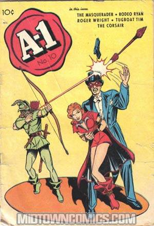 A-1 Comics #10