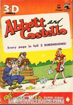 Abbott And Costello #3-D