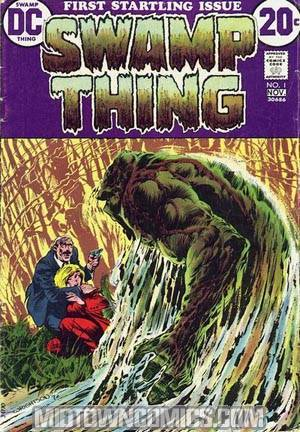 Swamp Thing Vol 1 #1