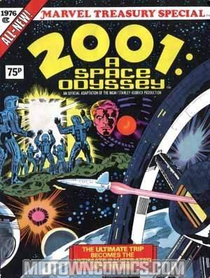 2001 A Space Odyssey Treasury #1