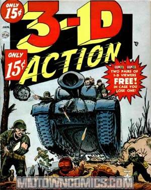 3-D Action #1
