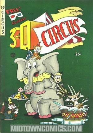 3-D Circus #1