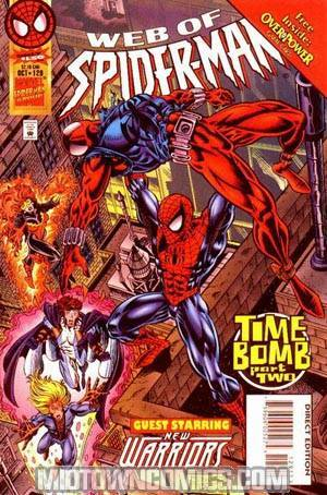 Web Of Spider-Man #129 w/ Cards