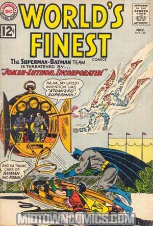 Worlds Finest Comics #129