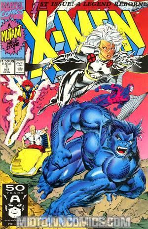 X-Men Vol 2 #1 Cvr A Beast/Storm