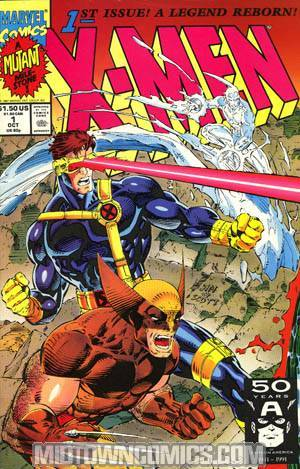 X-Men Vol 2 #1 Cvr C Cyclops/Wolverine