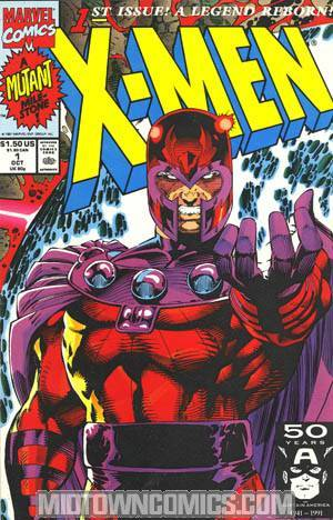 X-Men Vol 2 #1 Cvr D Magneto