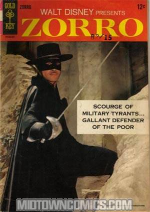 Zorro Vol 2 #1 (Gold Key)