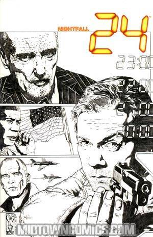 24 Nightfall #1 Cover D Incentive Joe Corroney Sketch Cover