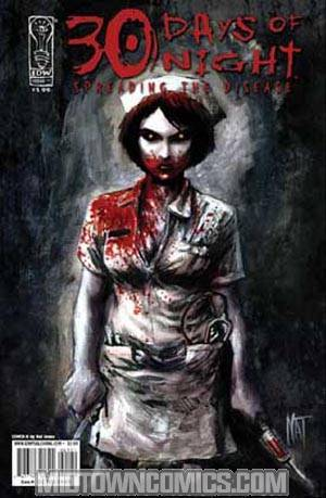 30 Days Of Night Spreading The Disease #1 Regular Nat Jones Cover