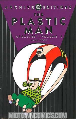 Plastic Man Archives Vol 4 HC