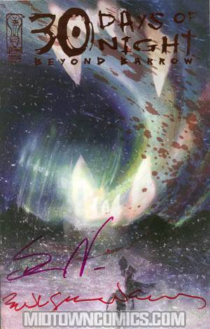 30 Days Of Night Beyond Barrow #1 Incentive Signed By Steve Niles And Bill Sienkiewicz