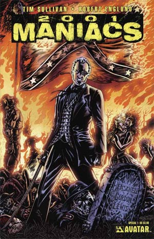 2001 Maniacs Special #1 Cover A Regular Cover