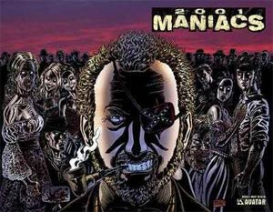 2001 Maniacs Special #1 Cover D Wraparound Cover