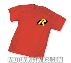 Robin Symbol T-Shirt Large