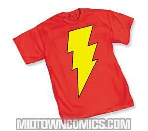 SHAZAM! Symbol T-Shirt Large