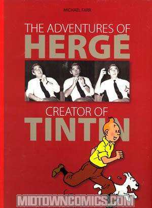 Adventures Of Herge Creator Of Tintin HC