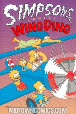 Simpsons Comics Wing Ding TP