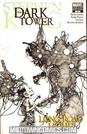 Dark Tower Long Road Home #2 Cover B Incentive Jae Lee Sketch Variant Cover