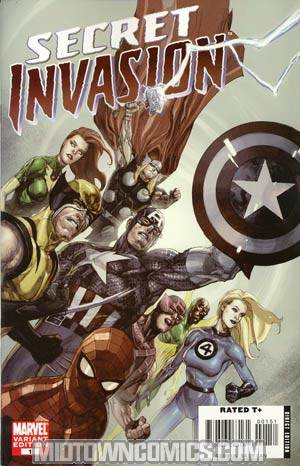 Secret Invasion #1 Cover G Incentive Leinil Francis Yu Variant Cover