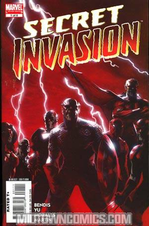 Secret Invasion #1 1st Ptg Regular Gabrielle Dell Otto Cover