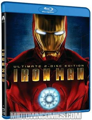 Iron Man Blu-ray DVD
