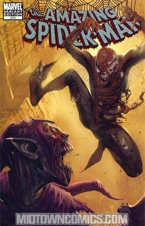 Amazing Spider-Man Vol 2 #573 Cover D Incentive Marko Djurdjevic Zombie Variant Cover