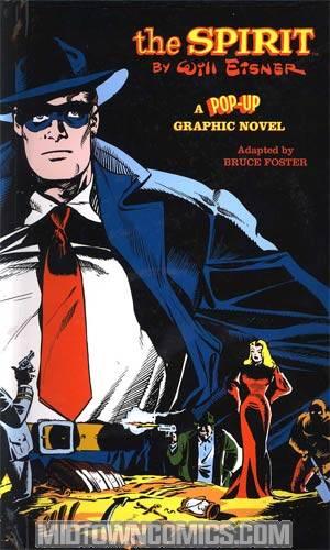 Will Eisners The Spirit Pop-Up Graphic Novel HC