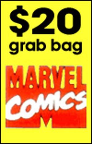 50-Count $20 MARVEL Grab Bag
